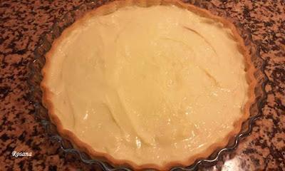 capa de crema pastelera