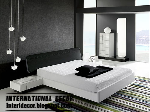 black and white bedrooms designs paint furniture accessories