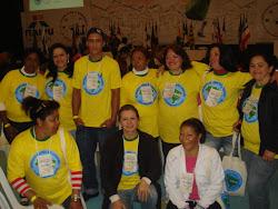 Mulheres lageanas representa Santa Catarina no encontro de catadora no PR