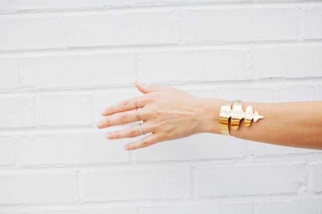 Victoria Road, gold bracelet