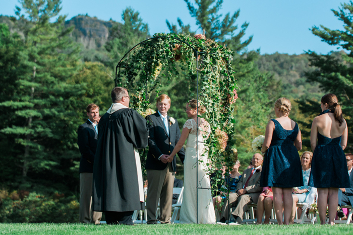 Blue Ridge Mountain Wedding at Grandfather Golf and Country Club | Boone NC Photographer