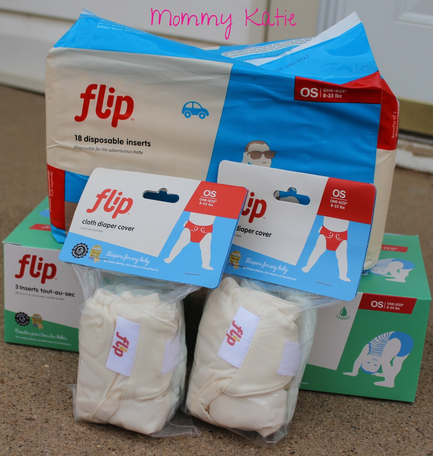 Mommy Katie: Flip Hybrid Diaper System (Surprise Online Baby Shower)