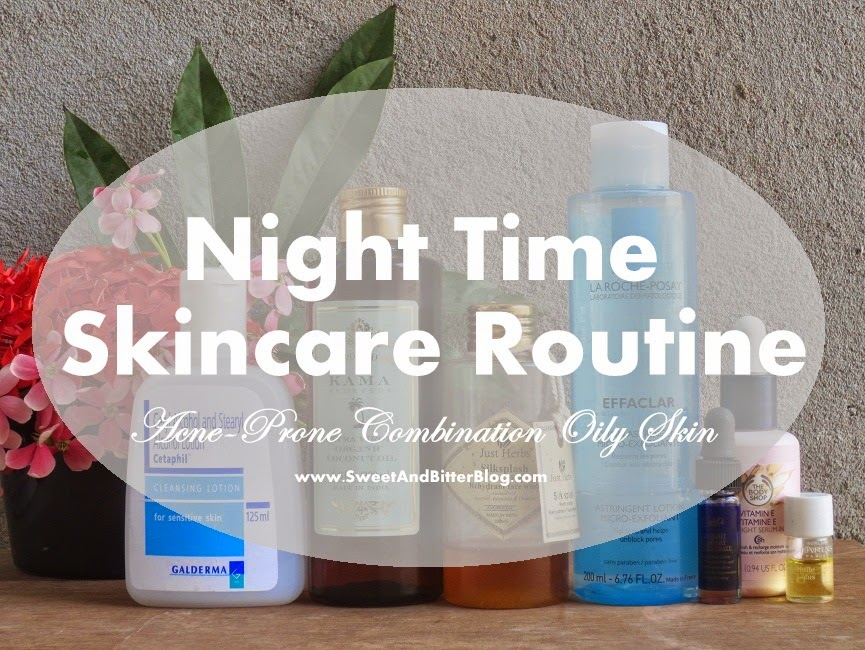 Acne Prone Combination-Oily Skin Skincare Routine