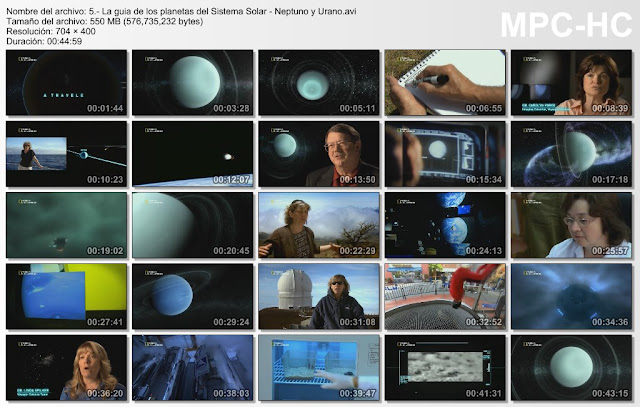 NATGEO |La Guia de Planetas de Sistema Solar|HDRip|MEGA