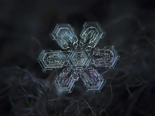 copos de nieve no son iguales