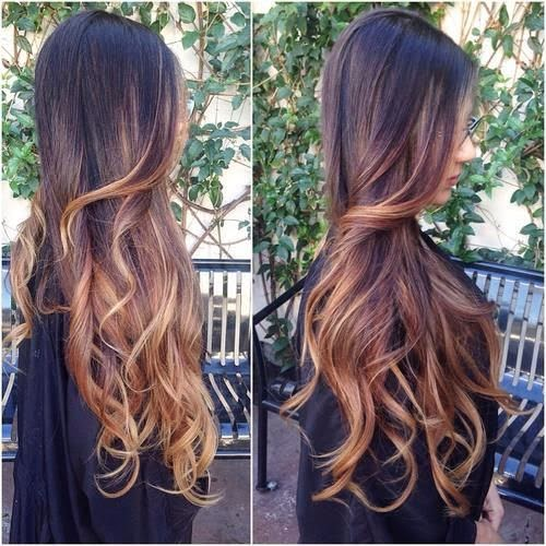 Cute long hair style