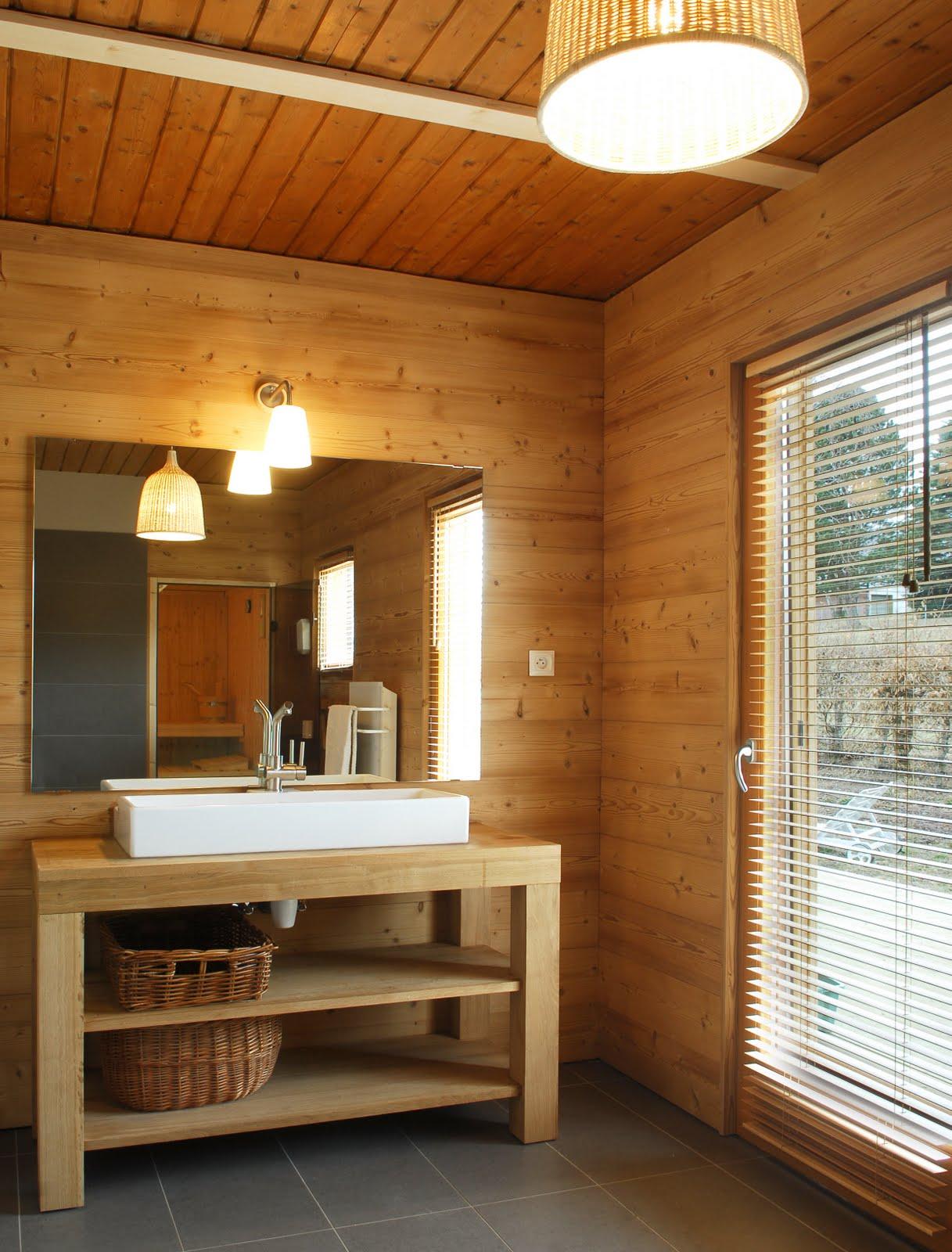 CHALET à AUBURE: Salles de Bains - Sauna
