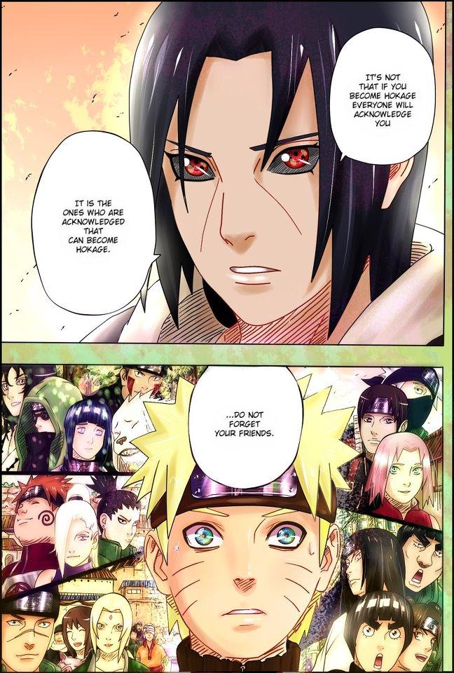 Alur Cerita Naruto Chapter 552 Bahasa Indonesia [ Versi Teks ]