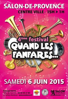 Fanfare Tahar Tag'l au festival Mudanza 2015 de Salon : Quand les fanfares... Numéro 4