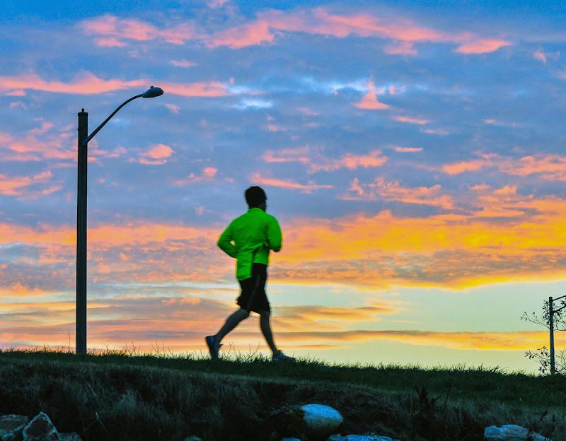 Back Cove Trail Portland Maine Jogging photo by Corey Templeton