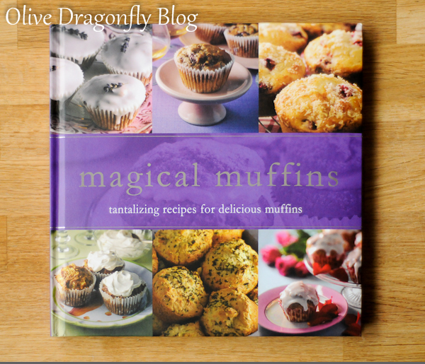 The Olive Dragonfly: Recipe - Sour Cream & Chive Savoury Muffins