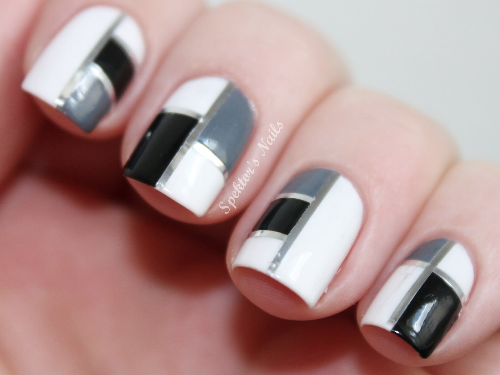Spektor\'s Nails: Square Nails Design by Sophie from My Awesome Beauty