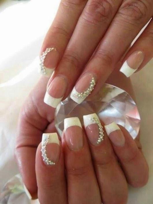 Neue Braut Nagellack Trends und Design