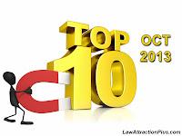TOP 10 - OCTOBER 2013