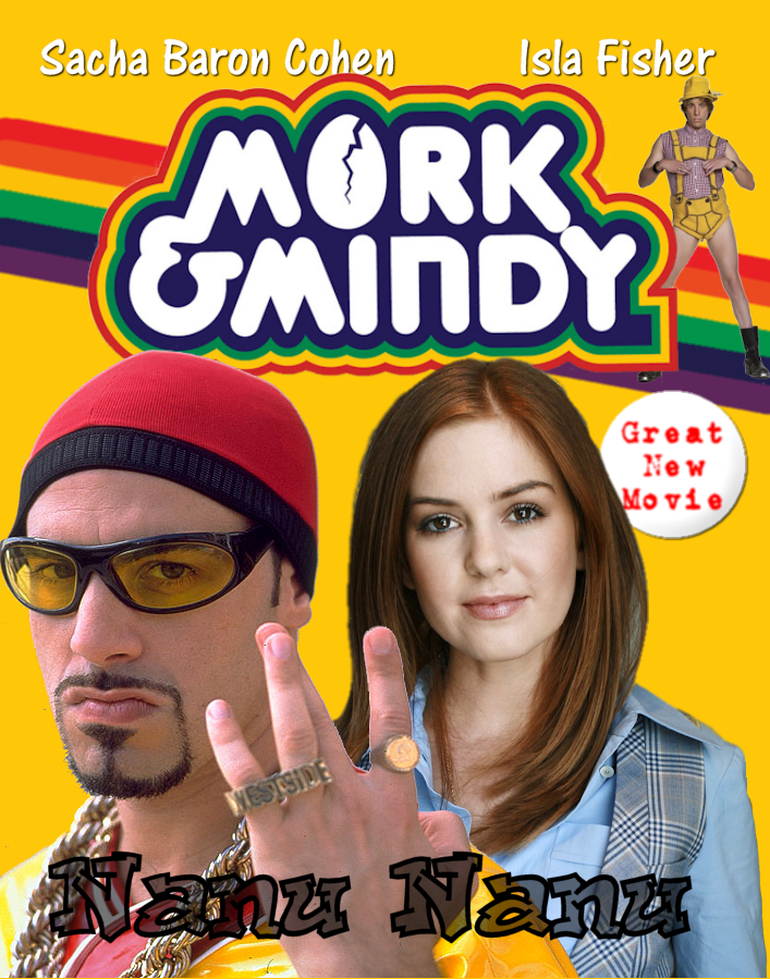 Ali G and Isla F in Mork & Mindy