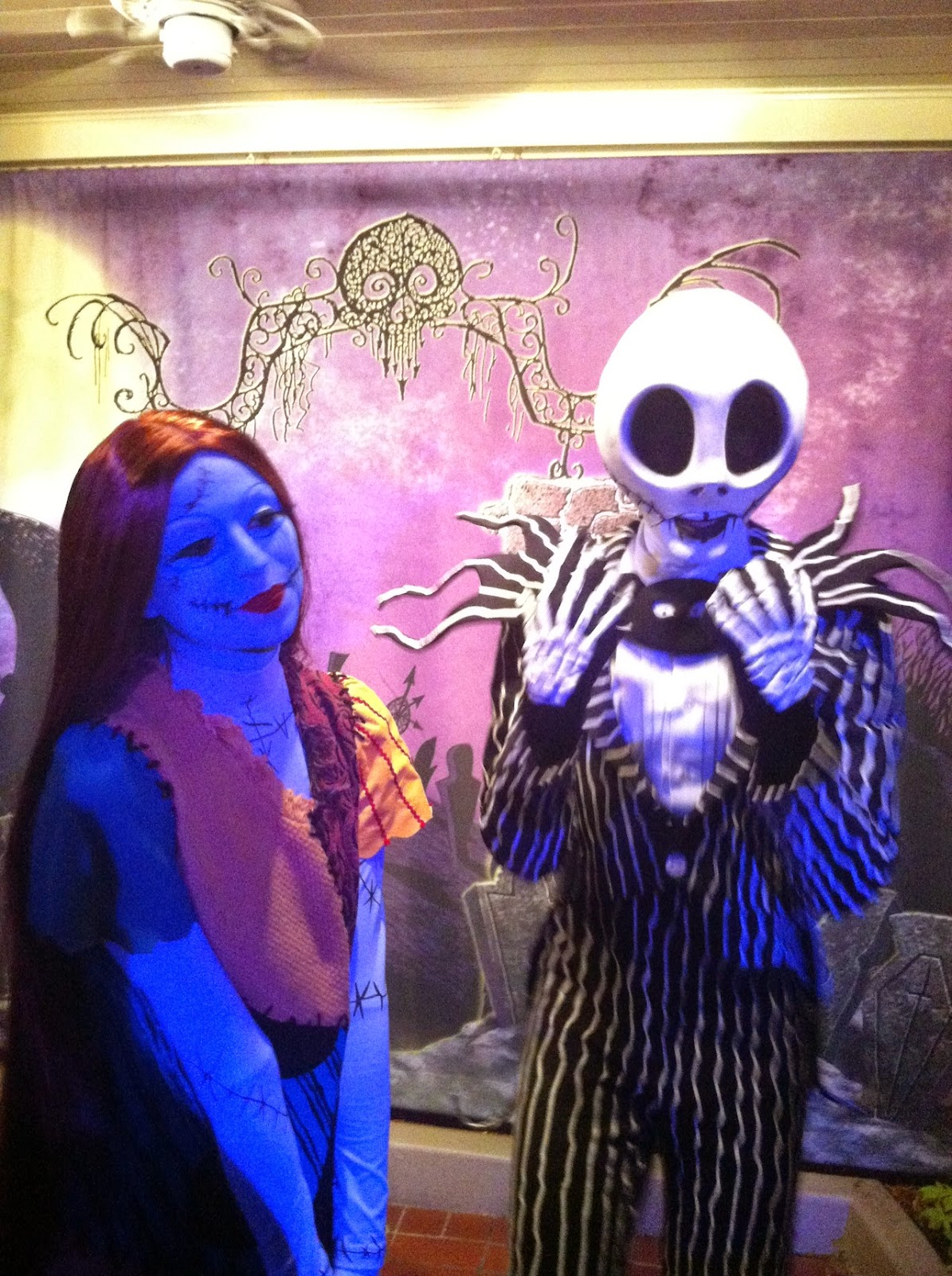 Jack and Sally-Nightmare Before Christmas