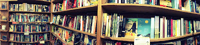 Panoramic Bookshelves at Skylight Books by intellichick