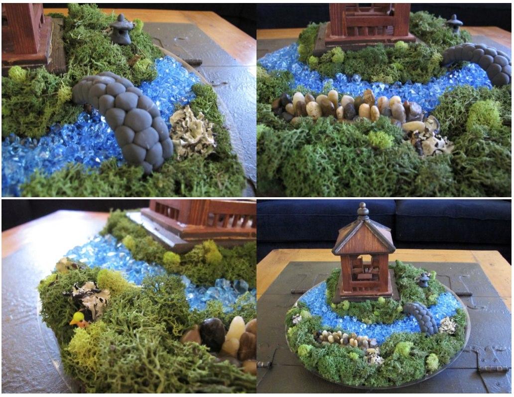 Wind Rose Fiber Studio Miniature Japanese Garden Show