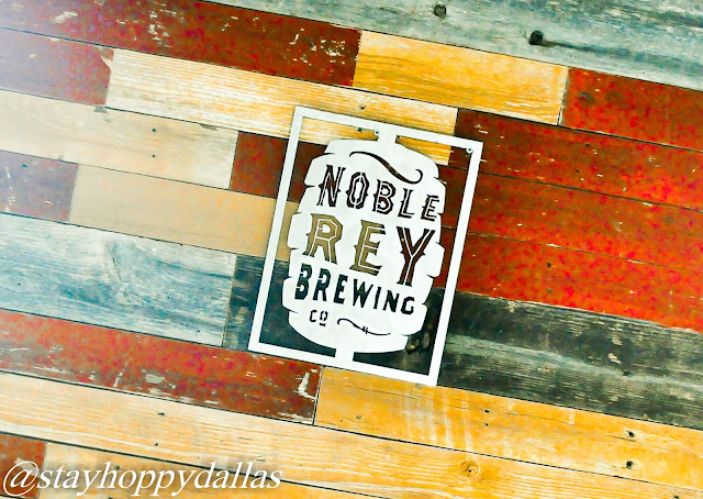 Noble Rey Brewing Sign
