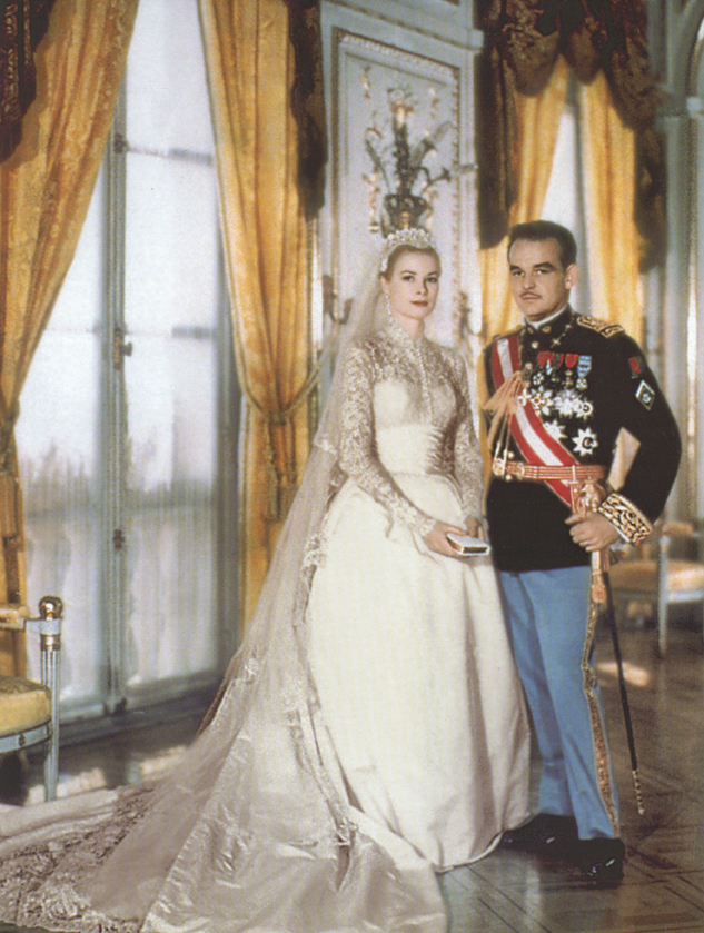 The history of wedding dresses Grace kelly wedding dress design