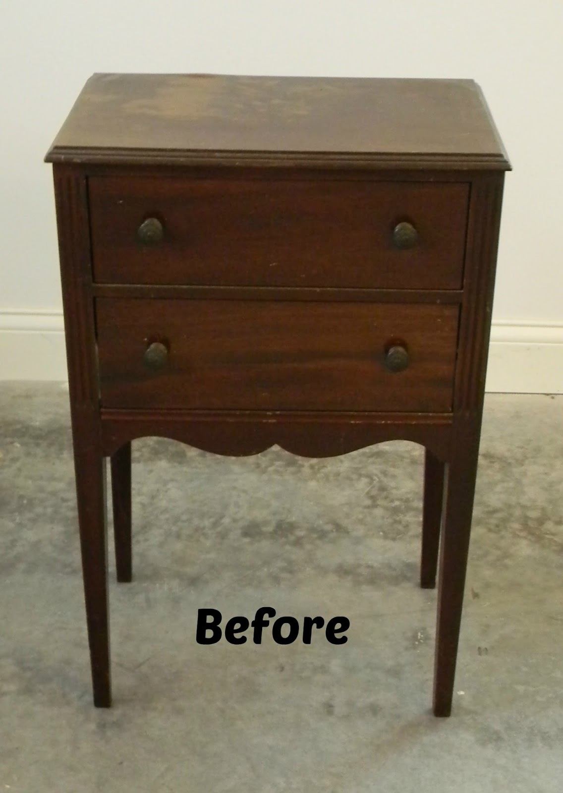 Vintage Sewing Cabinet - Forever Decorating!: Vintage Sewing Cabinet