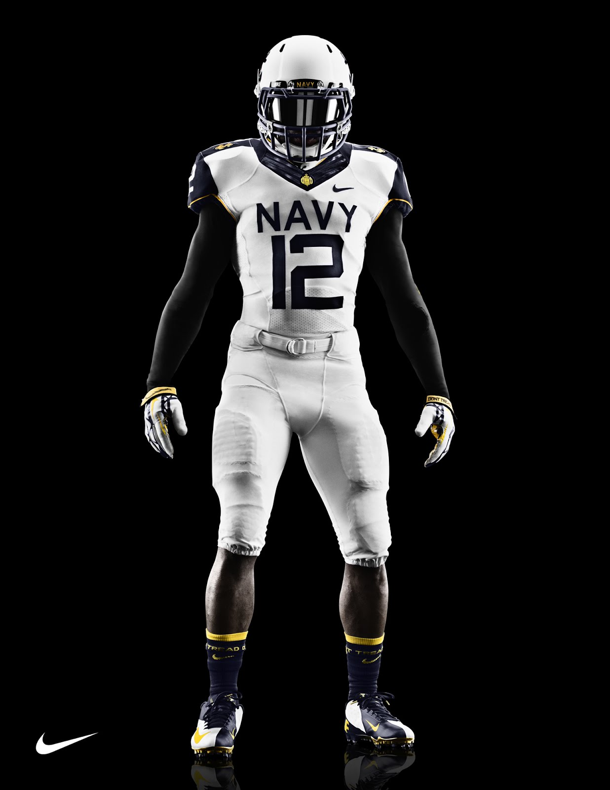 The just revealed Army and Navy football uniforms by Nike have some    Navy Football Uniform