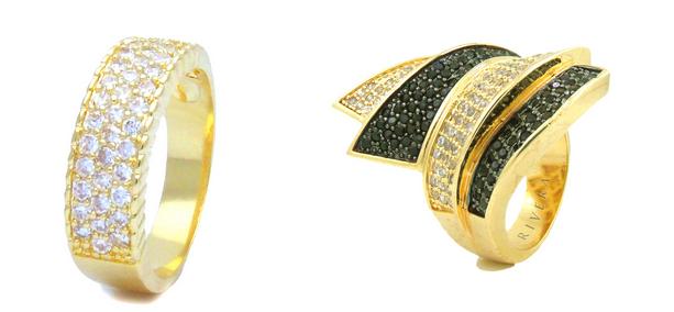 acessorios finos brincos colares pulseiras aneis