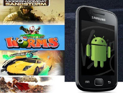 Android Games 2 (Samsung Galaxy Gio)