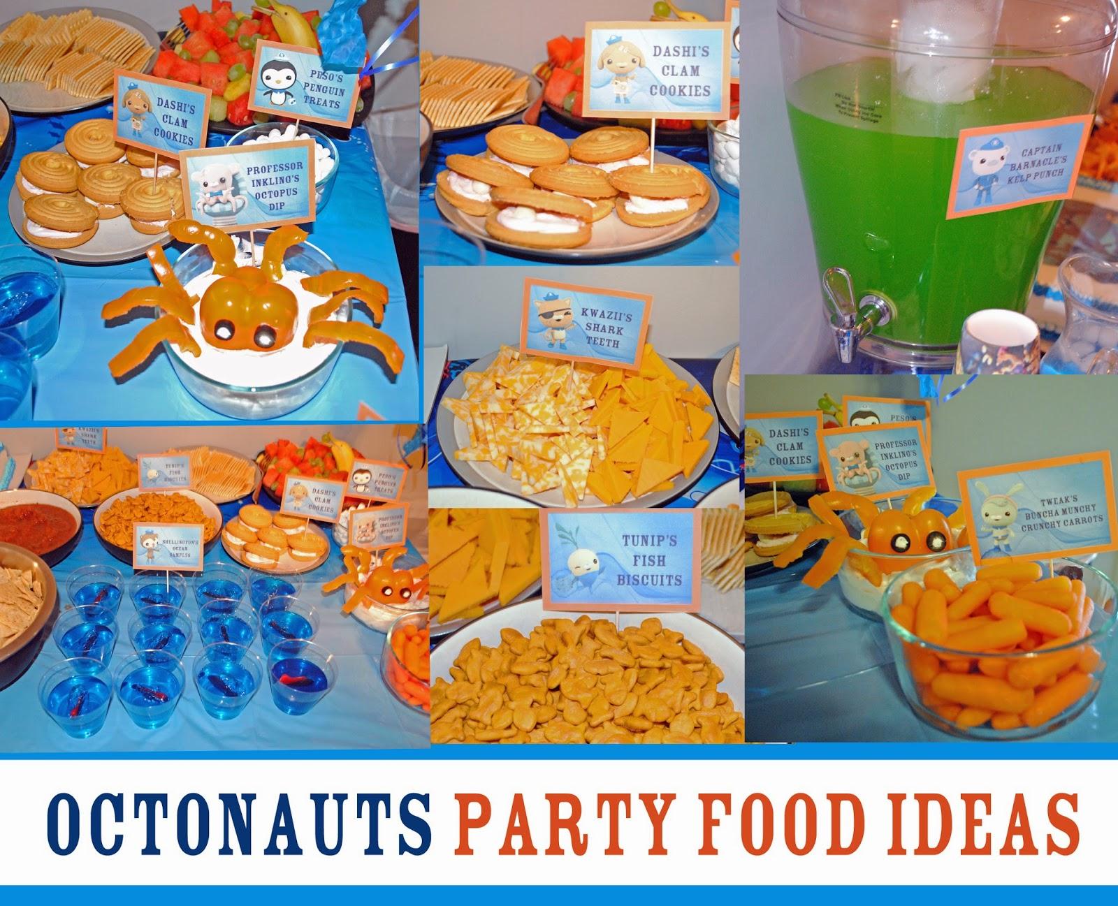 Octonuats Birthday Party