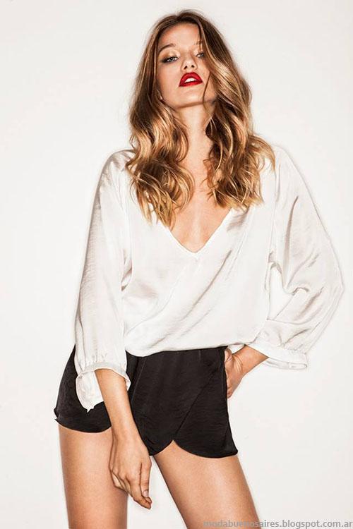 Blusas invierno 2015 moda mujer Bernarda Bernardita.