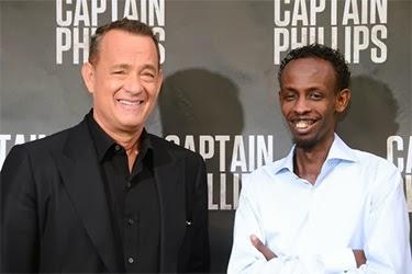 Tom Hanks e Barkhad Abdi