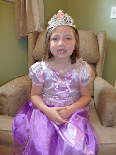 Rapunzel Princess Tea Party