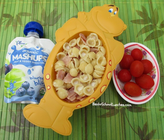 Mac & Cheese lunch, bento school lunches