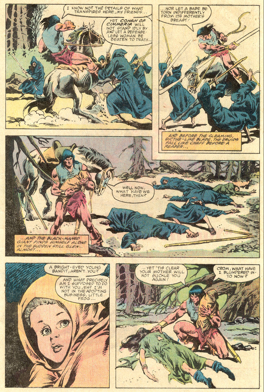 Conan the Barbarian (1970) Issue #136 #148 - English 4