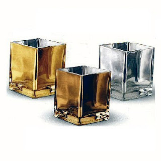 Buy Wholesale Mirrored Glass Cubes for Flowers