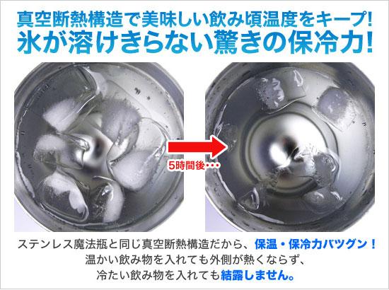 THERMOS 膳魔師保溫保冷不銹鋼真空杯 JCY-400 保冷性能測試