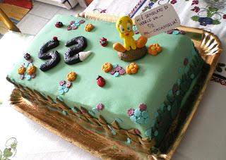pasta-di-zucchero-torta-cake-titti-tweety