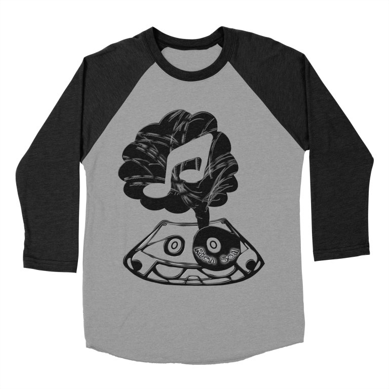 Rich Soil BaseBall Tee Black