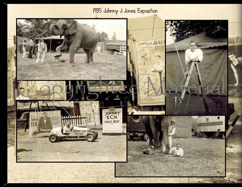 Freak Museum A Private Collection The Johnny Eck Photo Album