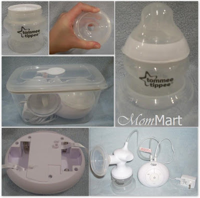 Tommee Tippee Closer to Nature Breast Pump collage