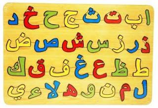 huruf hijaiyyah, huruf arab