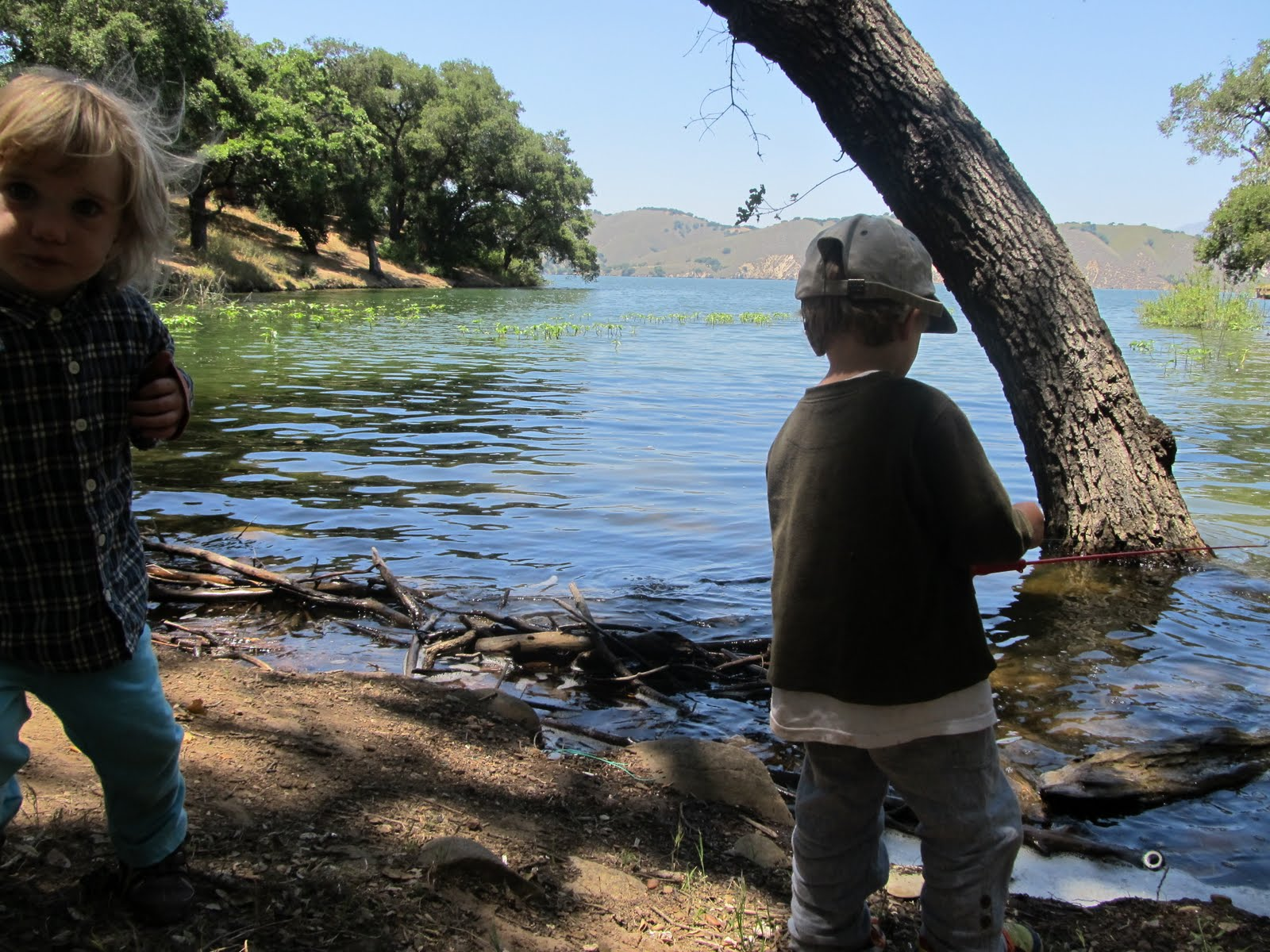 Tim burgess worldwide lake cachuma camping trip june 10 for Cachuma lake fishing