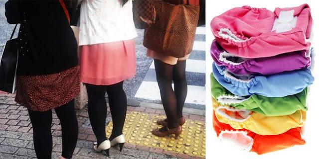Tren Baru, Wanita Jepang Pakai Popok Karena Malas Ke Toilet! [ www.BlogApaAja.com ]