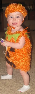 Toddler Pumpkin Costume Halloween