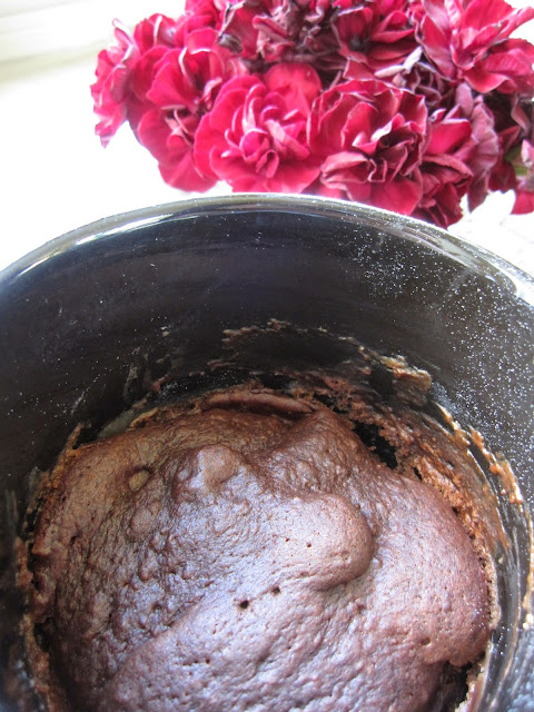 4 Ingredient Chocolate Mug Cake