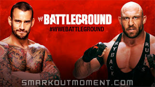 Download WWE Battleground Match CM Punk vs Ryback Online Video