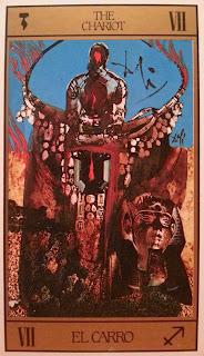 El Carro- Tarot de Dalí