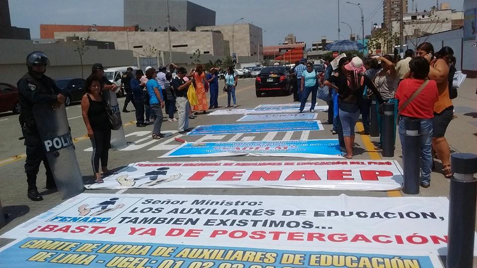 FENAEP PROTESTA 1