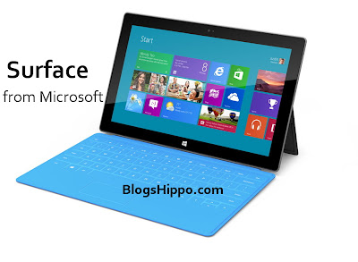 Microsoft Windows 8 Tab SURFACE pros cons