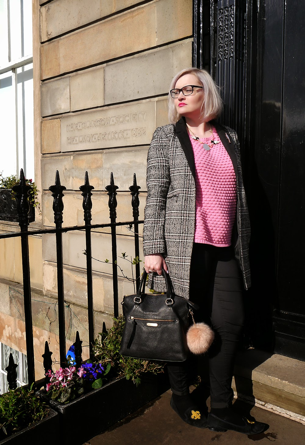 Debenhams, Glasgow, Scottish style, bob hairstyle 2015, blogger, Warehouse, pom pom, Hillarys Crafternoon, brights, #OOTD